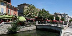 Week-end flâneries et brocante à L'Isle-sur-la-Sorgue, la cité des antiquaires