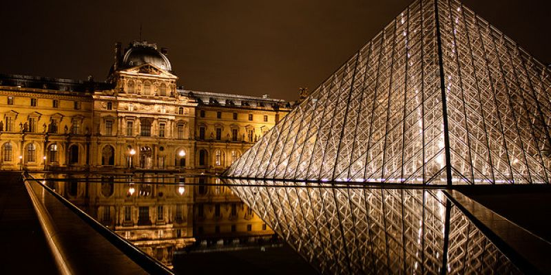 Week end pr sidentiel paris 52 weekends - Inauguration pyramide louvre ...