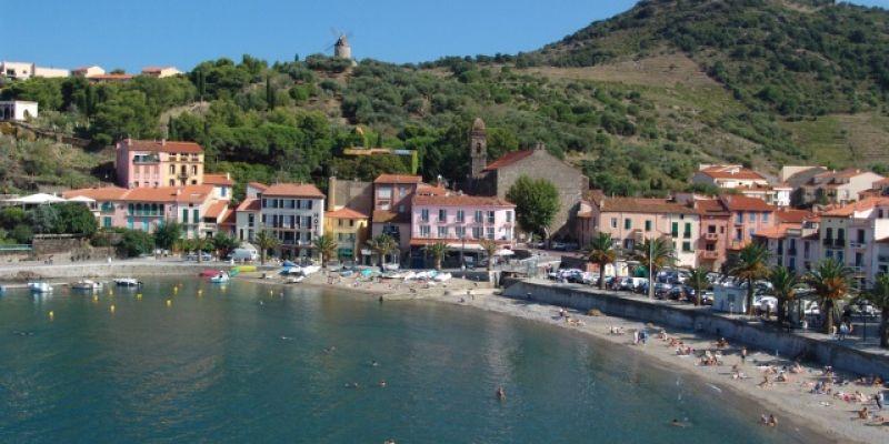 Hotel A Collioure En Bord De Mer