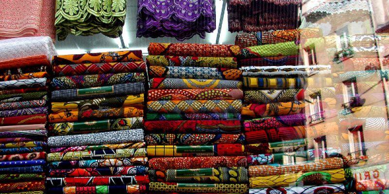 tissu africain a paris