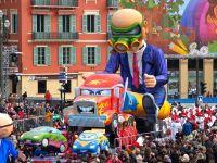 Carnaval de nice 52 weekends for Au jardin de victorine nice france