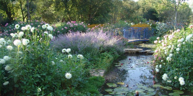 Week end bucolique et parfum au fil des jardins du - Les jardins du bien etre saint etienne ...