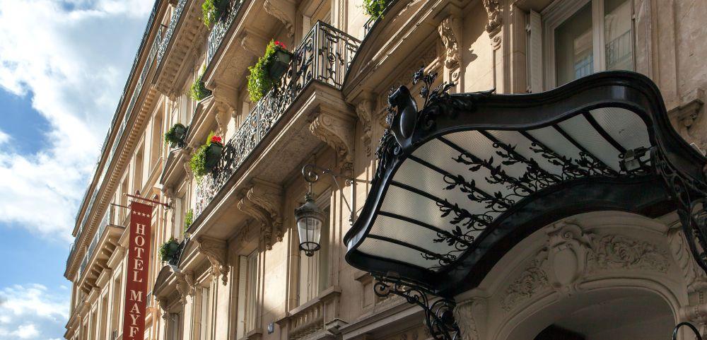 Boutique Hôtel 4 étoiles au coeur de Paris, Hôtel Mayfair Paris