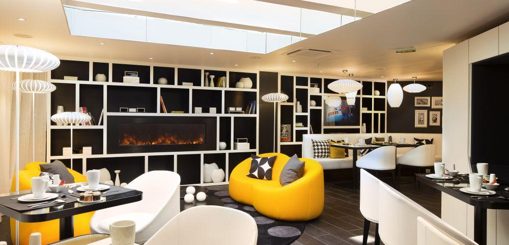 Moderne, chic et chaleureux, Hôtel Ekta