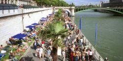 Week-end les pieds dans l'eau à Paris