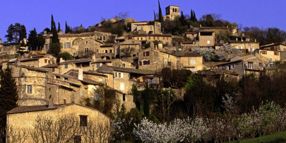 Week-end au cœur des villages perchés de la Drôme